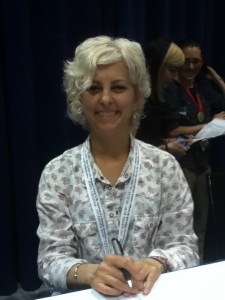 "Kate DiCamillo, the awesome author of ""Because of Winn Dixie,"" ""The Tale of Despereaux,"" and (this is a particular favorite of mine), ""The Miraculous Jounrey of Edward Tulane""!"