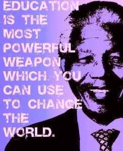 Nelson Mandela--Education